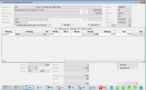 hoa don ban hang phần mềm kế toán BORO eAccounting