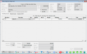 phieu nhap mua hang phần mềm kế toán BORO eAccounting