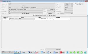 phieu thu phần mềm kế toán BORO eAccounting